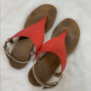 Chlock Coral Gold Sandal